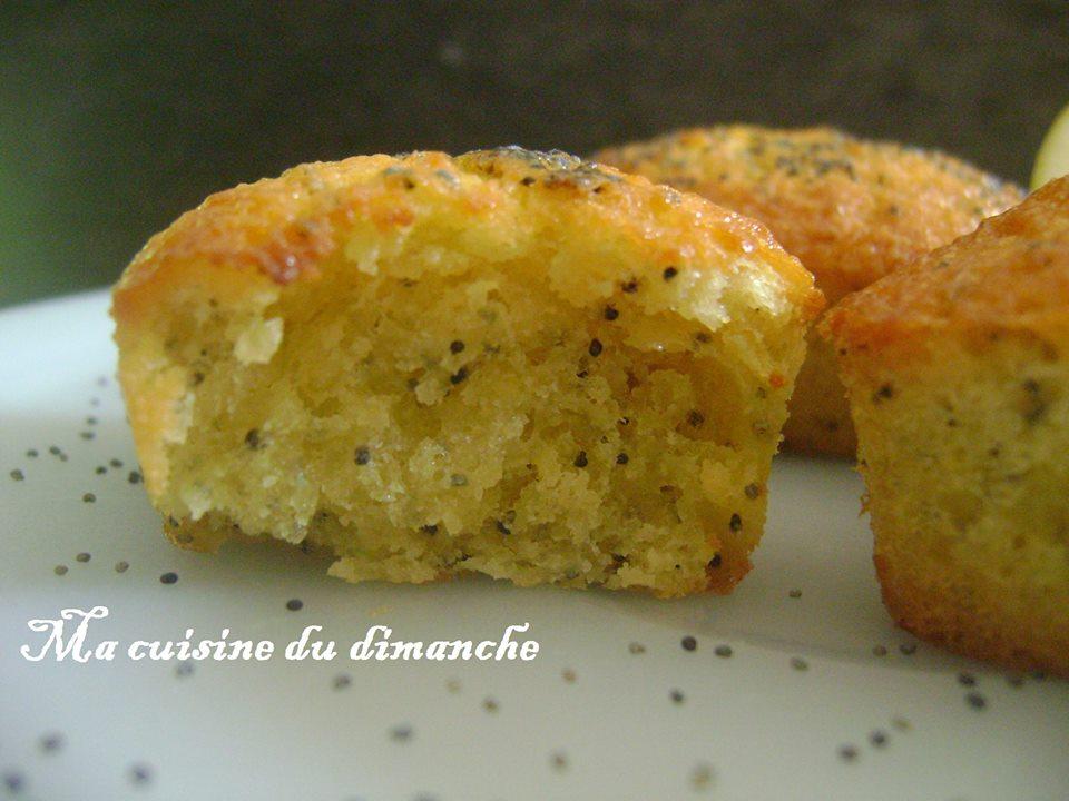 Ma Cuisine Du Dimanche Mini Cake Citron Pavot