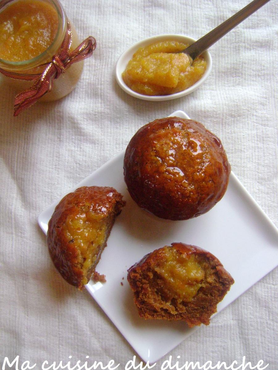 muffins aux saveurs de no l miel pices marmelade orange. Black Bedroom Furniture Sets. Home Design Ideas