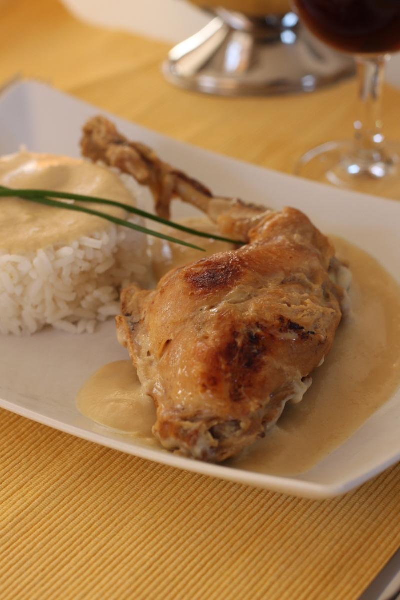 Cuisses de lapin la moutarde - Comment cuisiner des cuisses de lapin ...