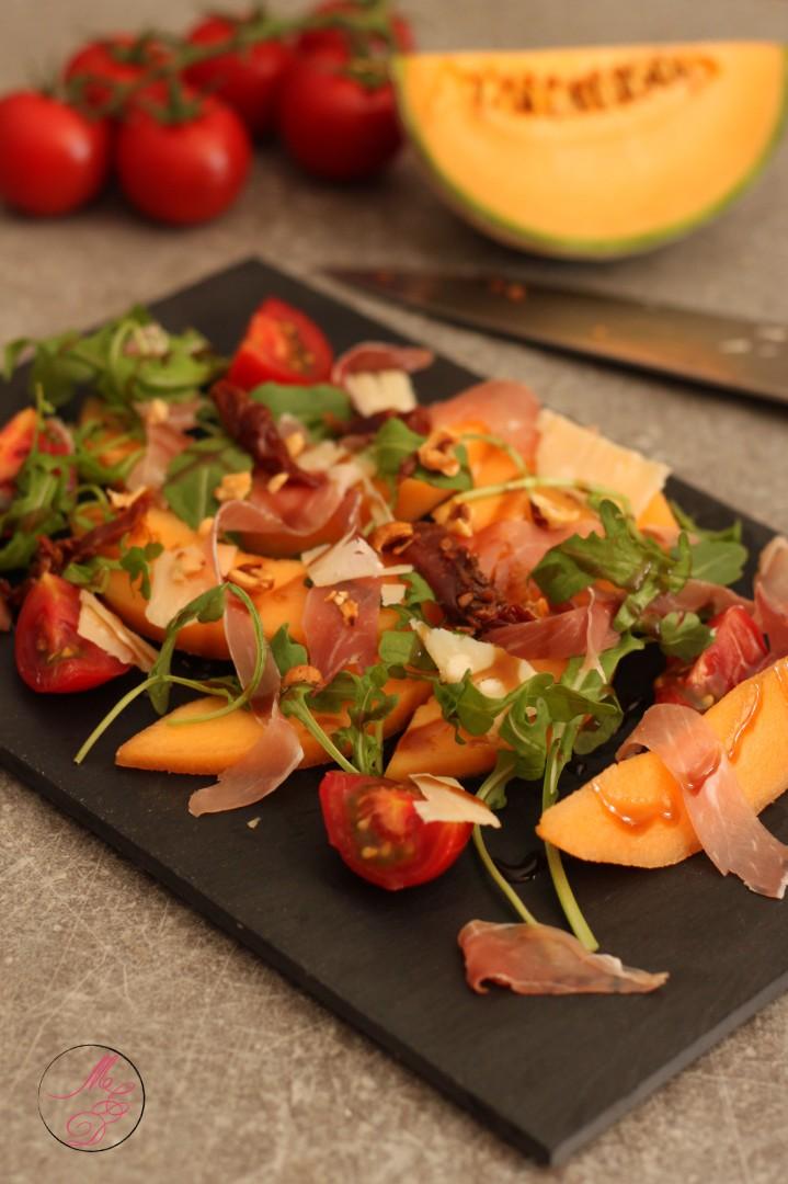 Salade De Melon A L Italienne